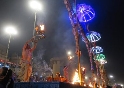Varanasi Aarti ceremony