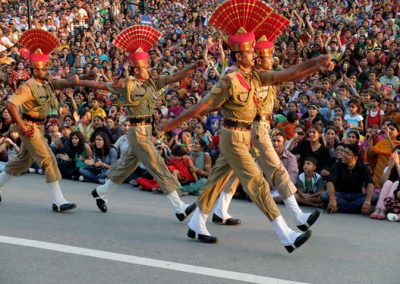 Wagah Border Flag Lowering Ceremony-