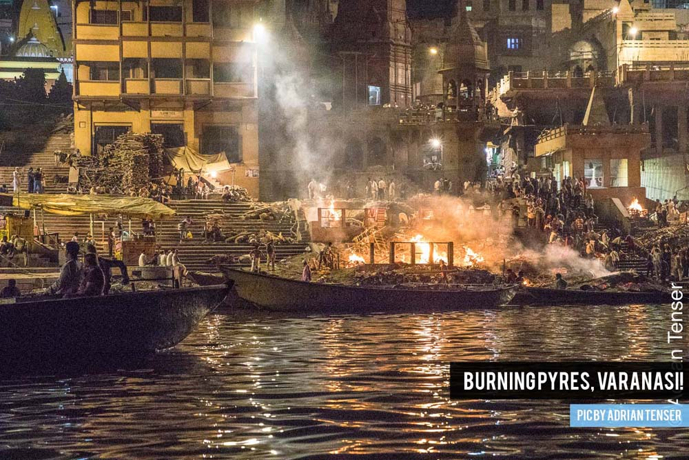 Burning pyres, Varanasi!